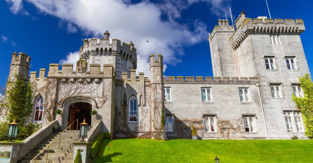 The stunning Dromoland Castle, Co. Clare, Ireland