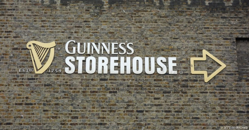 Entrance to Guinness Storehouse, Dublin, Ireland