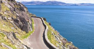 The Wild Atlantic Way Coastal Drive along the Dingle Peninsula, Kerry, Ireland