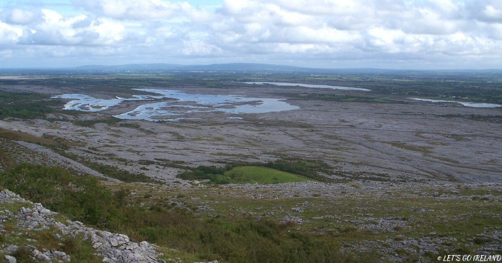 The lunar-like landscape of the Burren, Co. Clare, Ireland