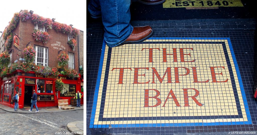 The Temple Bar Pub in Temple Bar, Dublin, Ireland