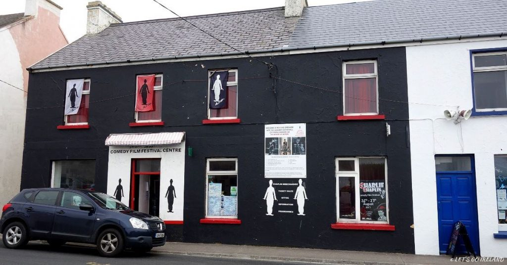 The Chaplin Film Festival Office and Centre, Waterville, Kerry, Ireland