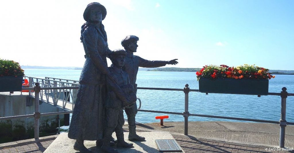 Annie Moore Statue, Cobh, Irland