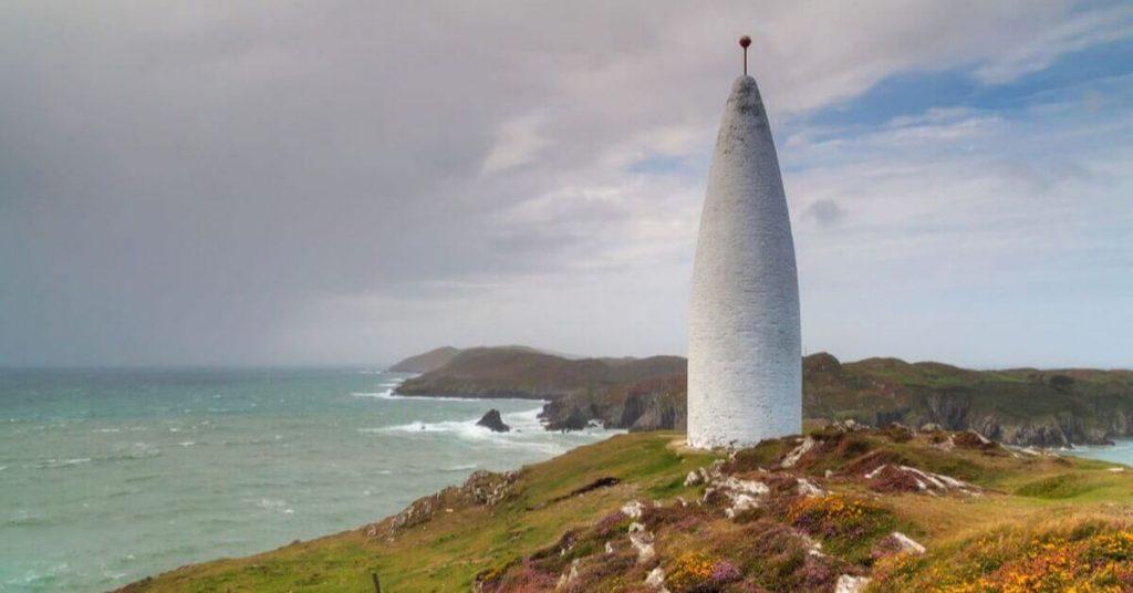The Baltimore Beacon, County Cork, Ireland.