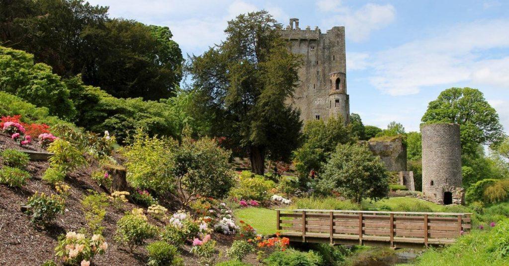 Blarney Castle, County Cork, Ireland, in spring