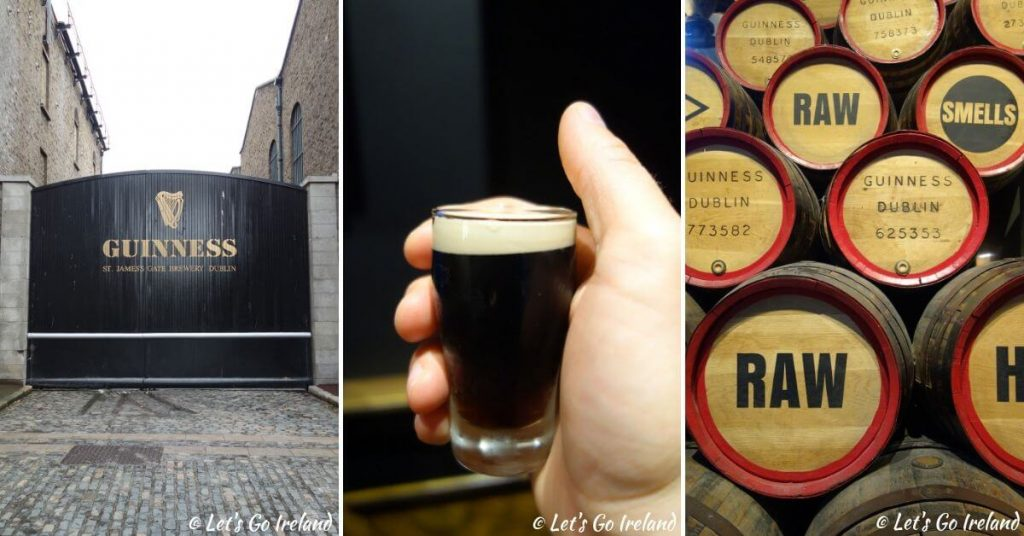 Guinness-Impressionen vom St. James's Gate Brewery in Dublin, Irland