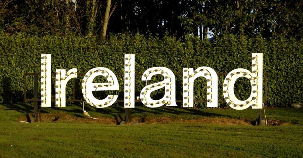 Irland Schild