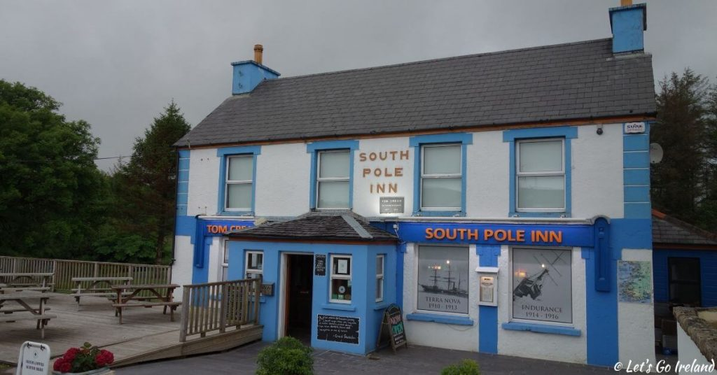 South Pole Inn in Annascaul, County Kerry, Irland