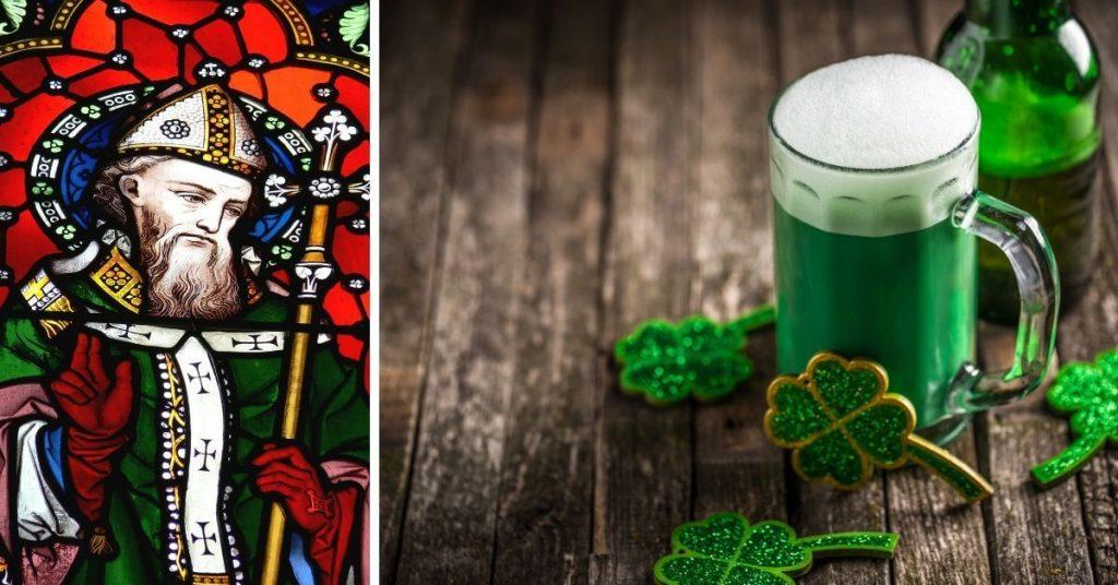 St. Patrick und St. Patrick's Day Festlichkeiten