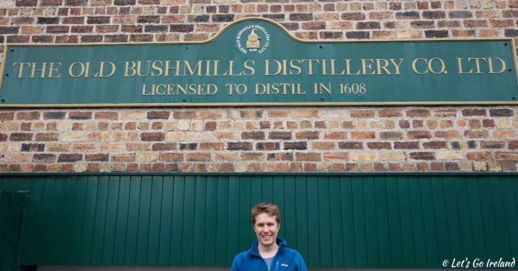 The Old Bushmills Distillery in Nordirland