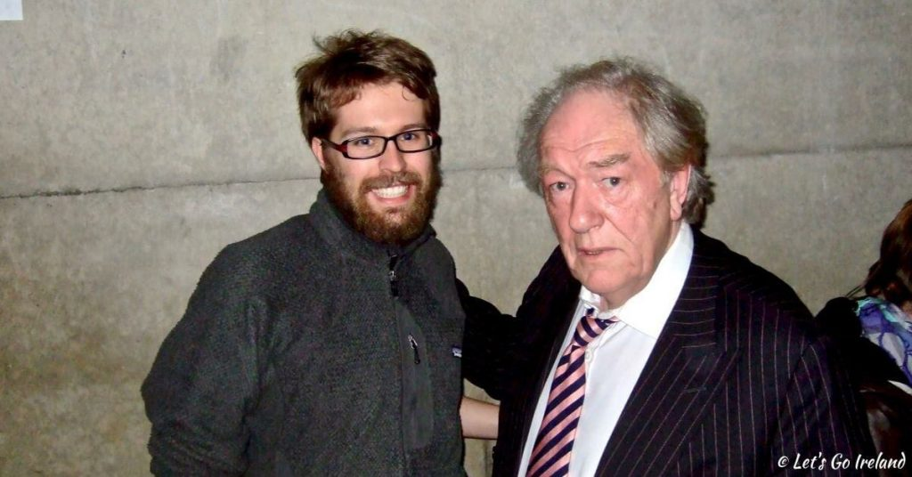 Nils and Michael Gambon