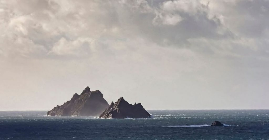 Skellig Michael, Little Skellig and Lemon Rock, County Kerry, Ireland
