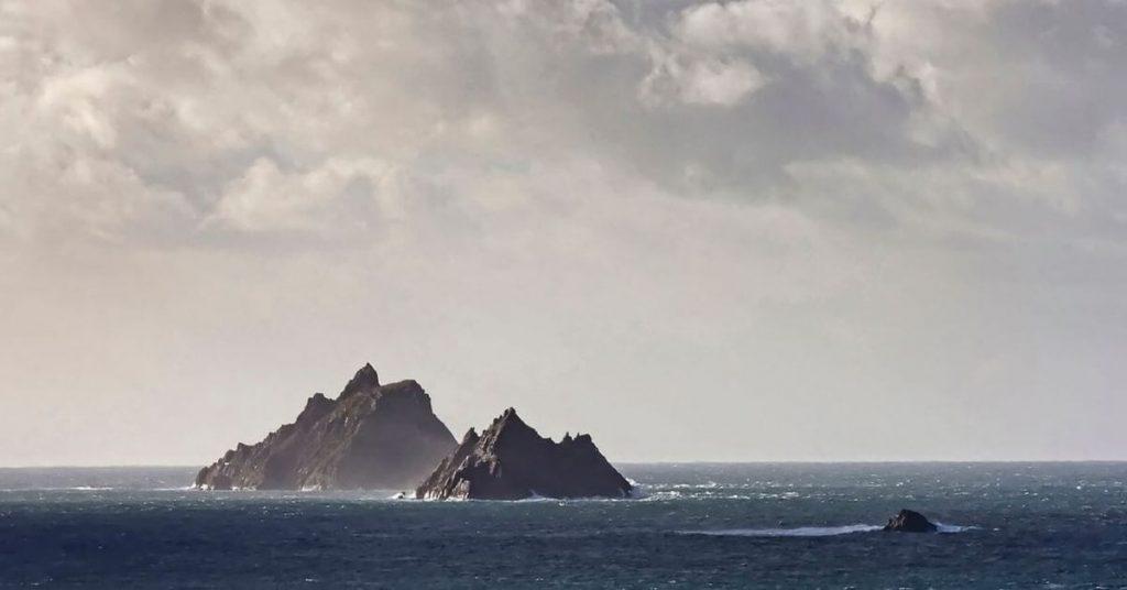 Skellig Michael, Little Skellig and Lemon Rock, County Kerry, Ireland
