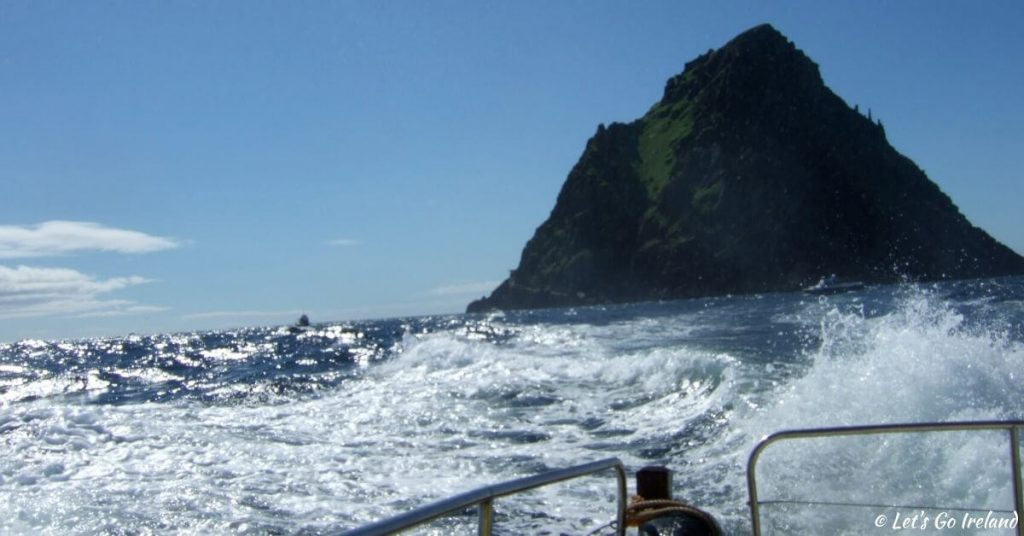 boat ride from Skellig Michael County Kerry Ireland