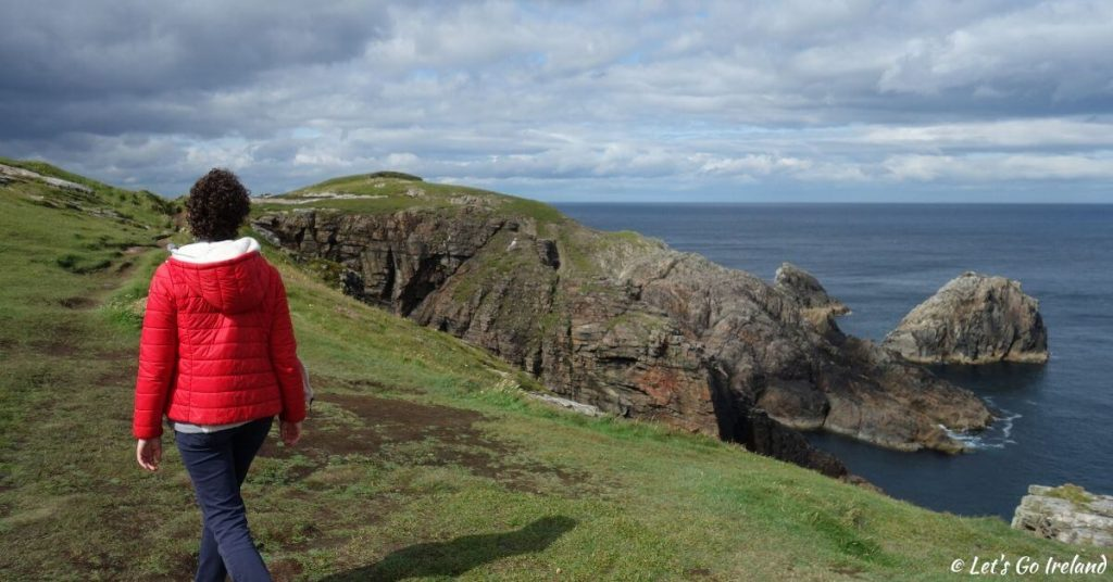 Emer on Malin Head County Donegal Ireland