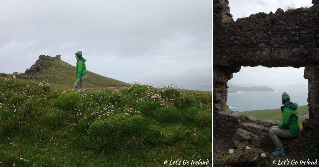Emer on Sybil Head County Kerry Ireland