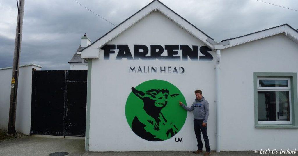 Farren's Bar in Ballygorman close to Malin Head County Donegal Ireland