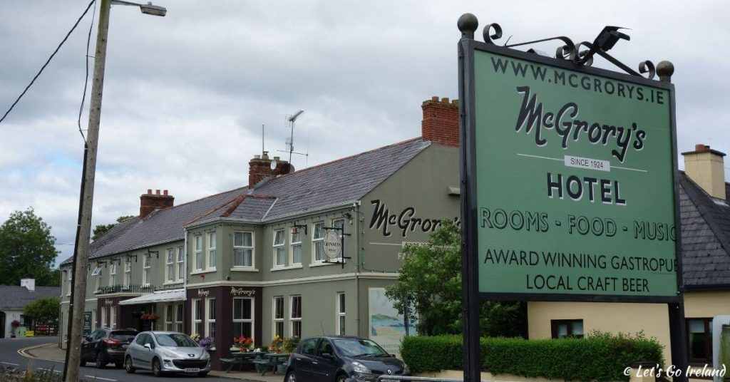 McGrory's Hotel in Culdaff County Donegal Ireland