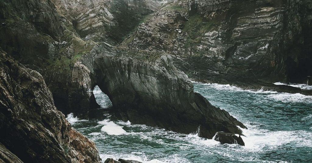 cliffs of Mizen Head County Cork Ireland