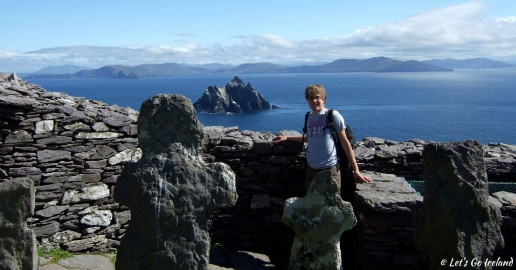 Nils on Skellig Michael County Kerry Ireland