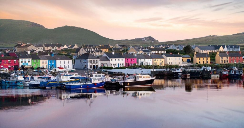 Portmagee Harbour view County Kerry Ireland