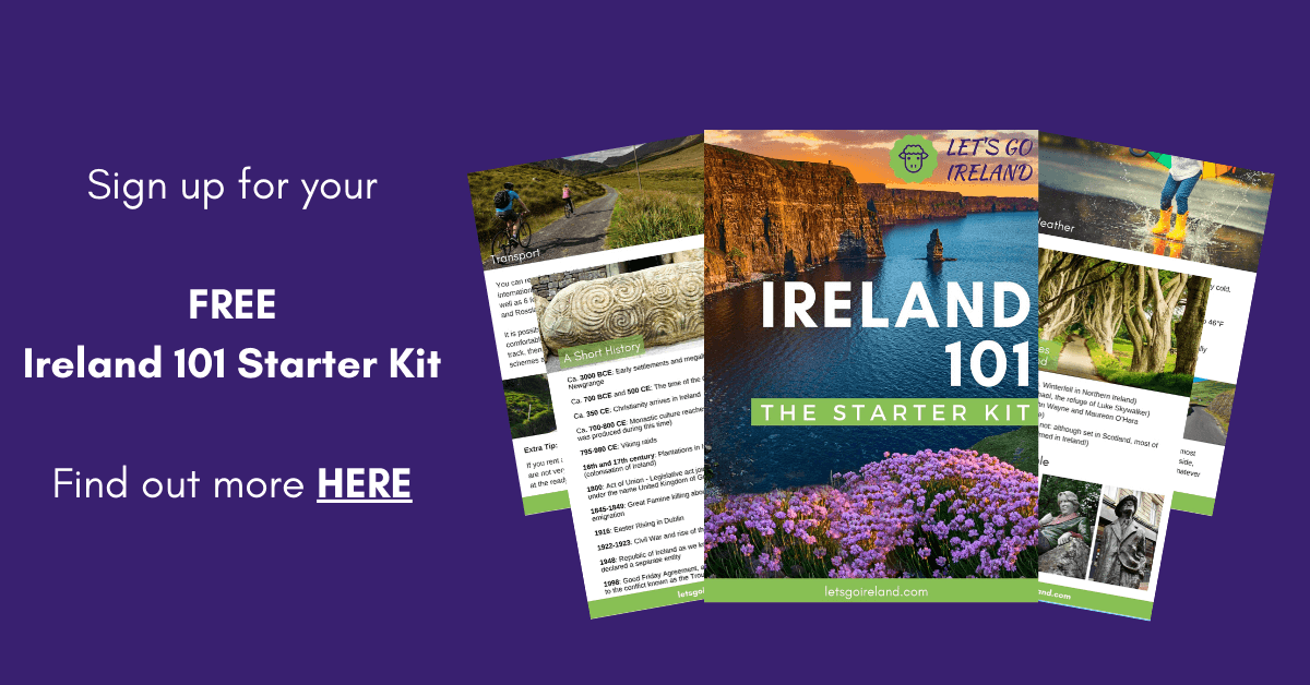 Ireland 101 Starter Kit from Let's Go Ireland