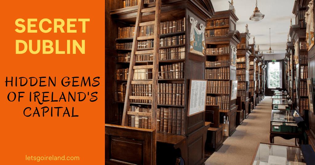 Hidden Dublin Image depicting the Arshbishop Marsh's Library in Dublin