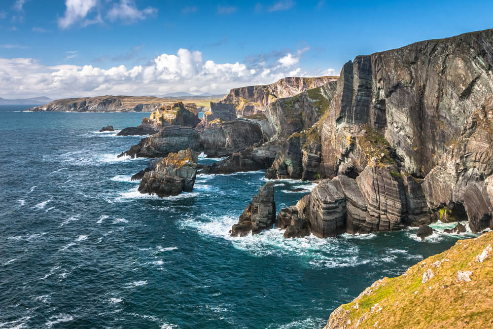 Cliffs near Mizen Head on the Wild Atlantic Way, Ireland