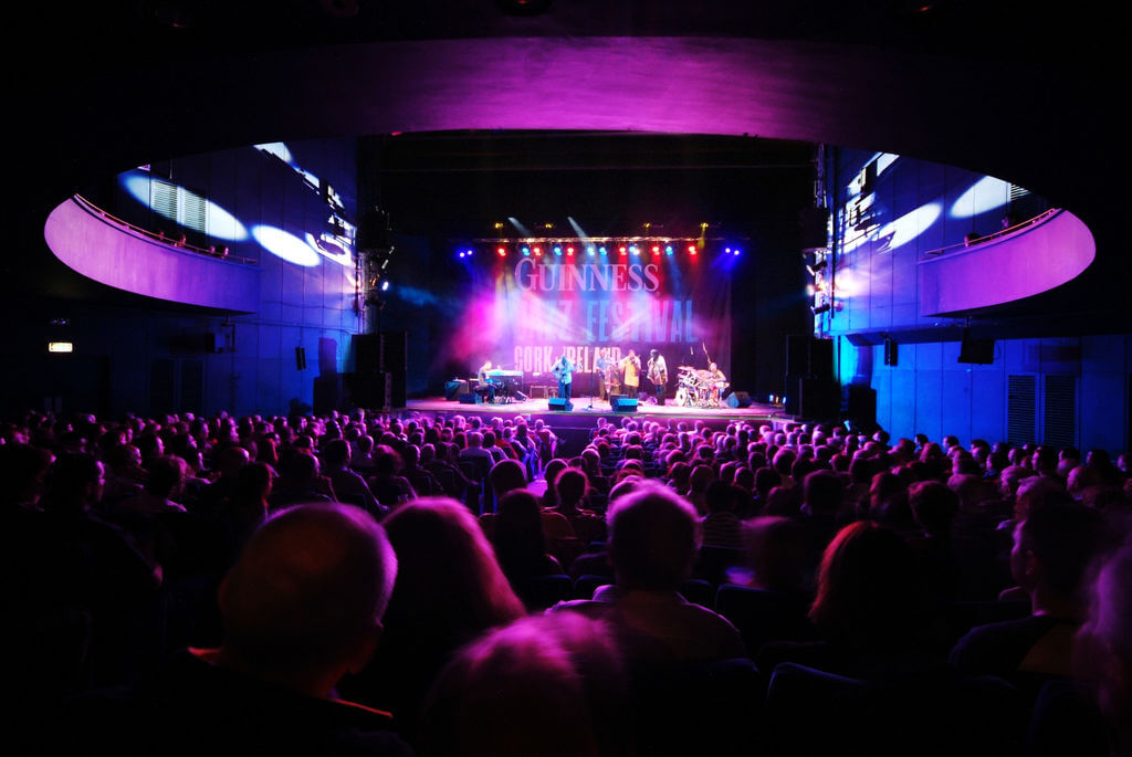 The annual Guinness Cork Jazz Festival attracts thousands of music fans to Cork each October.