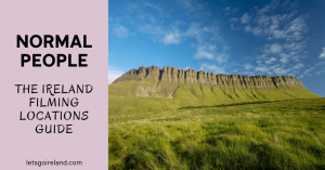 Normal People Feature Image with Ben Bulben