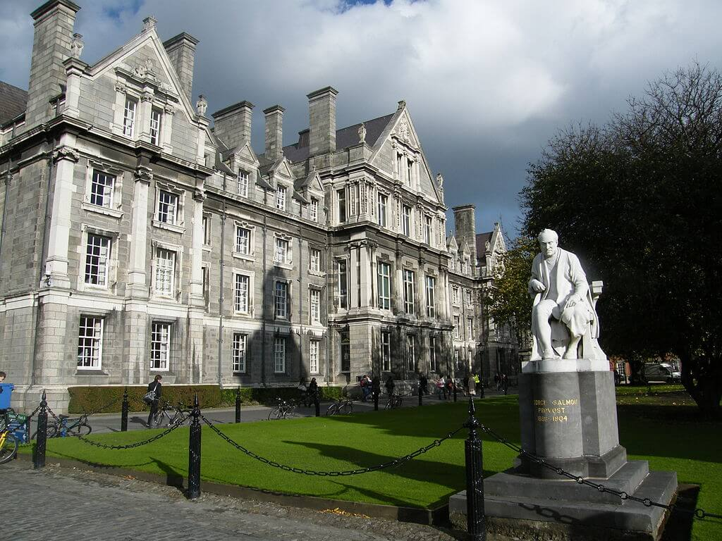 Graduates Memorial Building at Trinity College Dublin