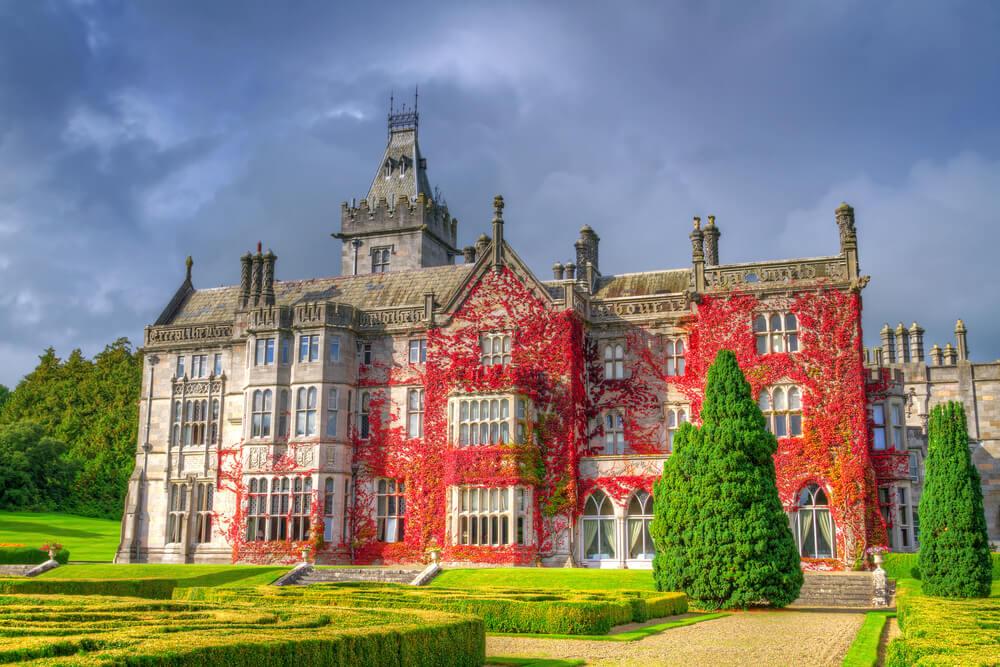 Adare Manor, Ireland in Autumn.