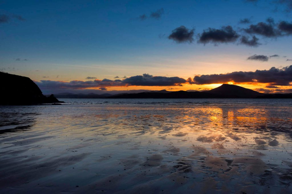 Sunset at Downings Beach Count Donegal, Ireland