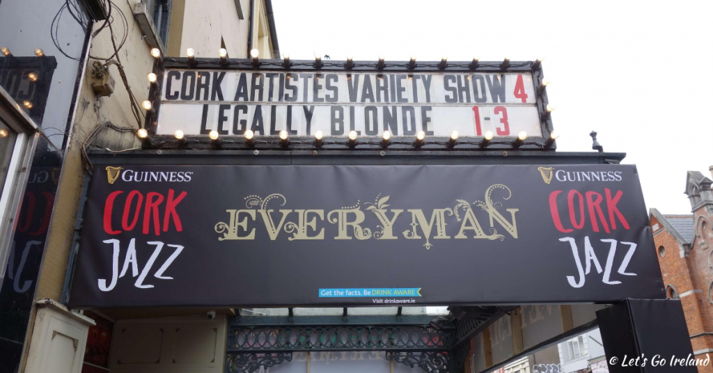 The Everyman Palace in Cork, Ireland during the Guinness Cork Jazz Festival.