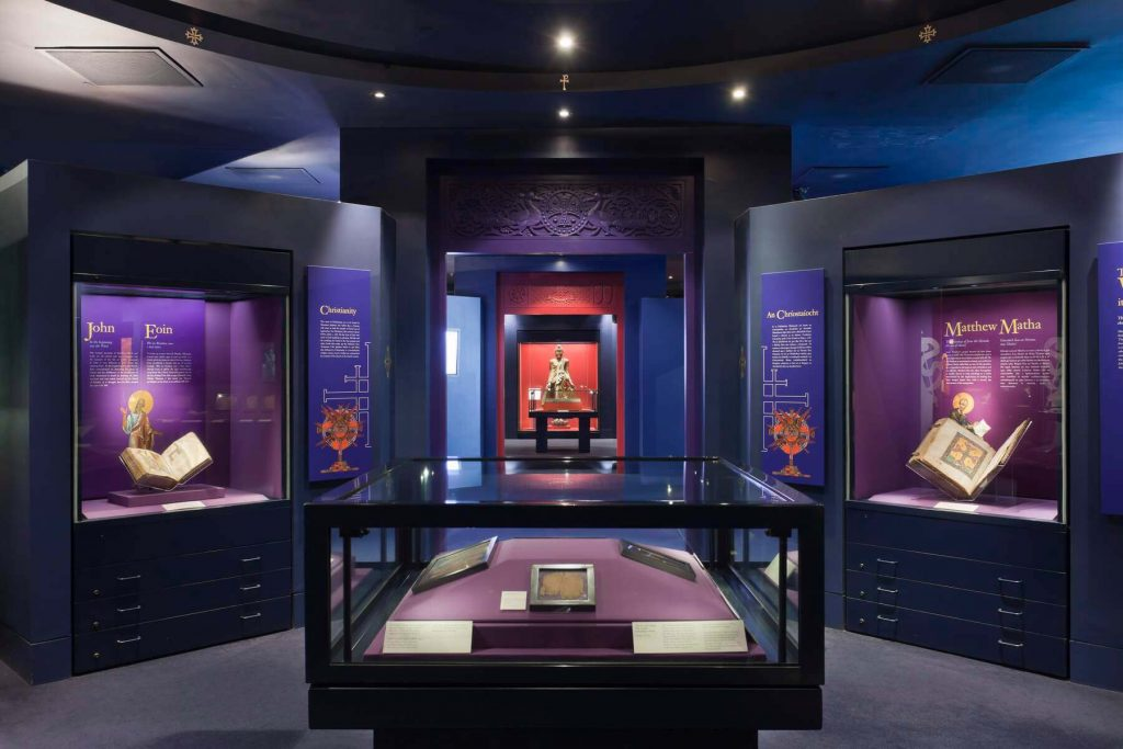 The Sacred Traditions Gallery in the Chester Beatty Library, Dublin, Ireland.