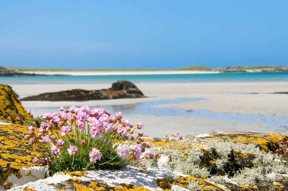Clifden Beach, Connemara, County Galway, Ireland.