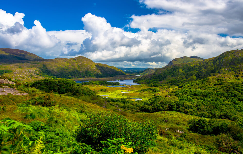 Lady's View in Killarney National Park, County Kerry.