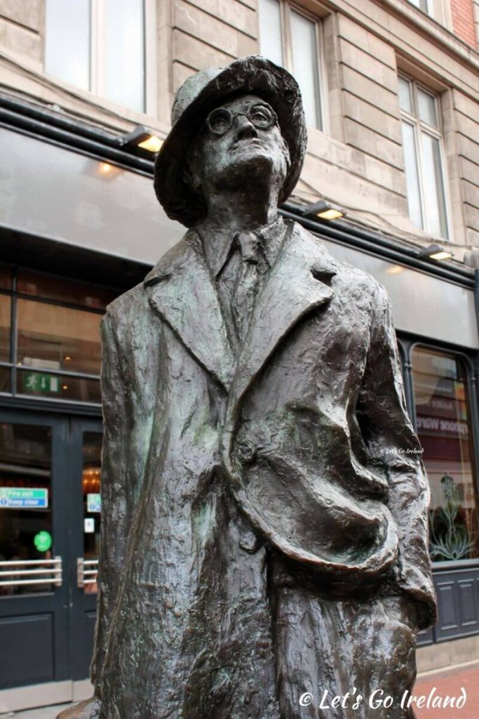 James Joyce Statue, North Earl Street, Dublin, Ireland