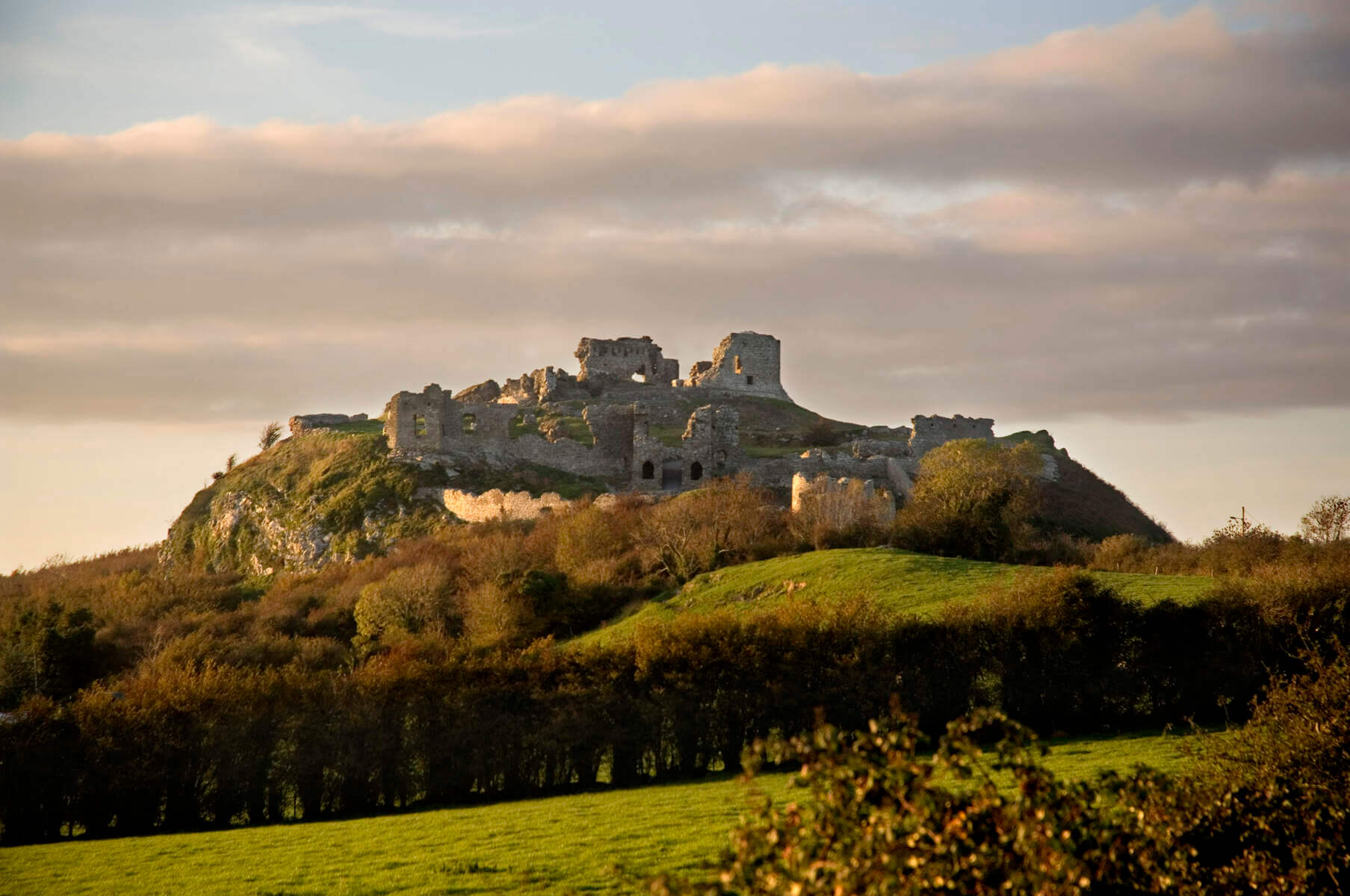Rock of Dunamase, County Laois, Ireland