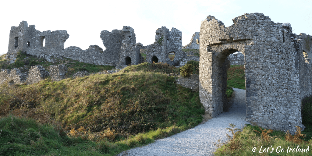 Rock of Dunamase, County Laois, Ireland.