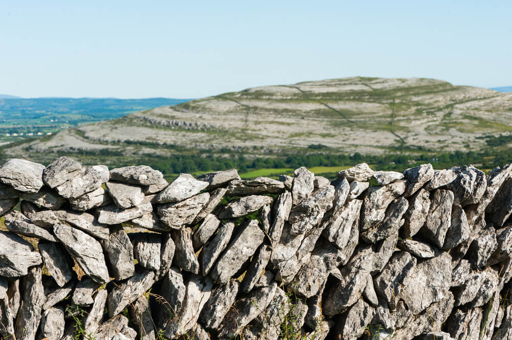 The Burren in County Clare