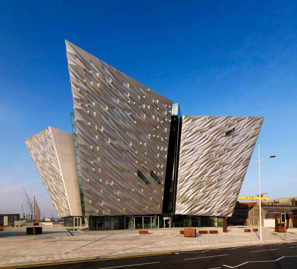 Titanic Belfast in the Titanic Quarter, Northern Ireland