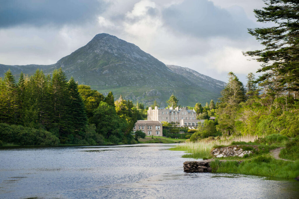Ballynahinch Castle in County Galway, Ireland