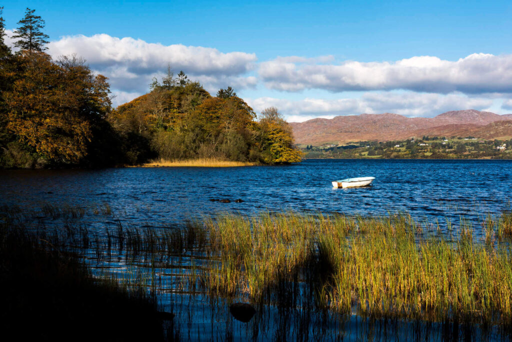 Lough Eske in County Donegal, Ireland